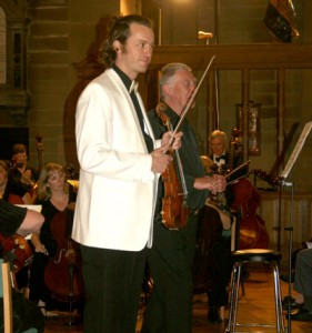 Korngold Violin Concerto, High Peaks Orchestra, Buxton, Andrew Hodkinson Conductor